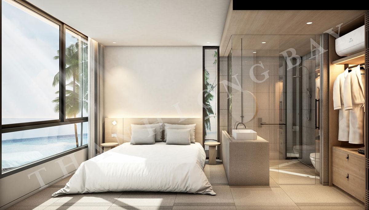 Thiết kế phòng ngủ căn hộ 2 PN