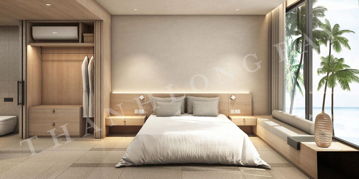 Thiết kế phòng ngủ căn hộ 3 PN
